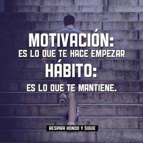 Motivación y hábito