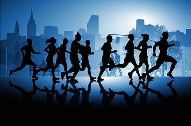 Running Noche Montaje
