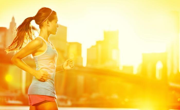 running-calor