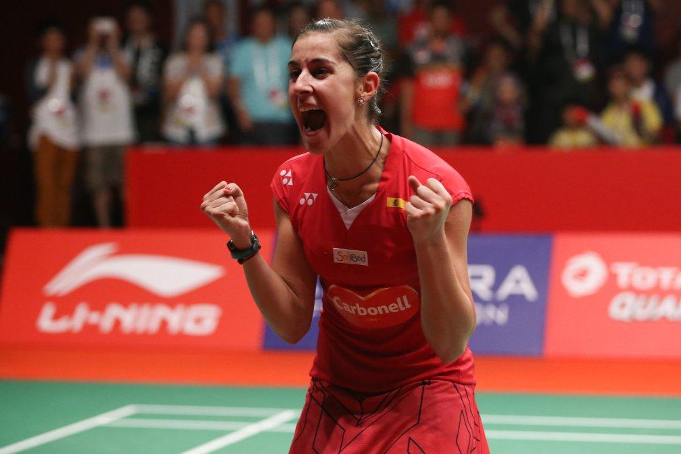 Carolina Marín Bicampeona