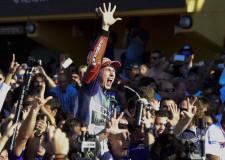 Lorenzo gana el Mundial de MotoGP en Cheste