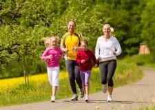 Running en familia