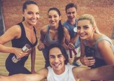 Deporte para el Día Internacional de la Felicidad