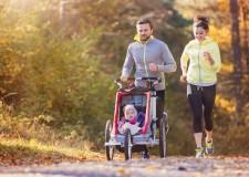 Tener un peque en casa no te excusa a salir a correr