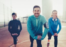 Beneficios de correr en compañía