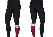 Leggings Nike Power Training para mujer, estilo de contraste con máxima elasticidad