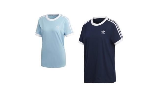Camiseta Adidas Originals Stripes para mujer, homenaje a las tres bandas