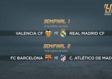 Emparejamientos de la nueva Supercopa de España en Abu Dhabi