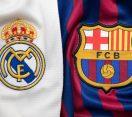 BANGKOK, THAILAND -JULY 19:  The Logo of Real Madrid against Barcelona on Football Jerseys on July 19,2018.