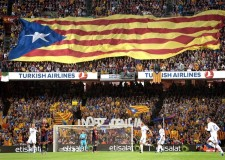 A la UEFA se le cuela una estelada en un vídeo promocional