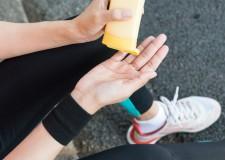 La piel y el running